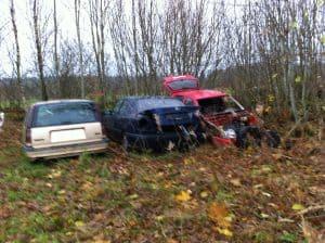 Bildemontering Ronneby, bilar tas om hand av en auktoriserad bilskrot