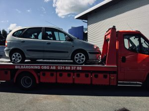 Skrotintyg för bilar i Kungsbacka