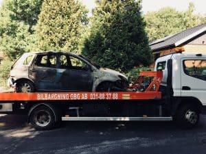 Fullmakt skrota bil i Göteborg