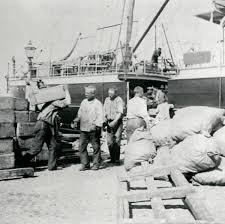 Men i centrum fanns sjåarna i Göteborgs hamn.