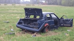 Lämna uttjänt bil till auktoriserad bilskrot i Sjöbo