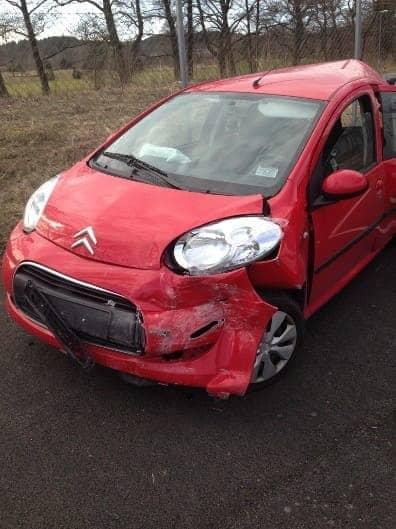 Sälja bil med skada
