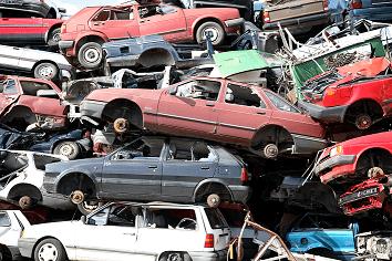 Återvinning av skrotade personbilar